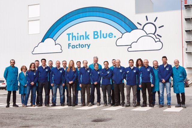 Programa 'Think Blue. Factory' de Volkswagen Navarra.