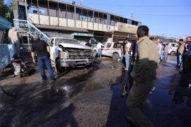 Al menos 30 muertos y 35 heridos por un atentado de Estado Islámico al este de Kerbala (Irak)
