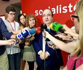 """Miquel Iceta (PSC) afirma que el referéndum es """"una etapa más de un camino a ninguna parte"""""""