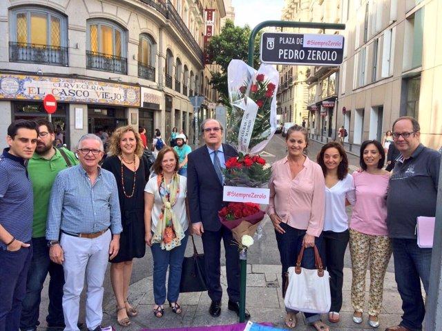 PSOE homenaje a Zerolo