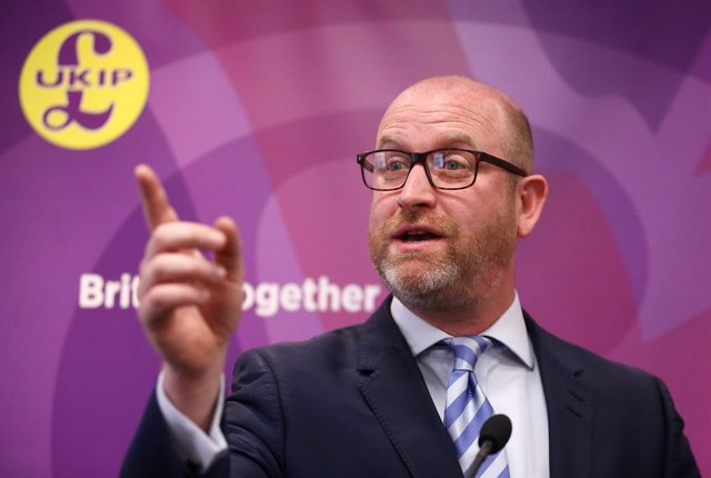 Paul Nuttall, líder del UKIP