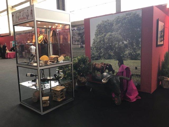 Expositor de la Diputación de Badajoz en Ecuextre 2017