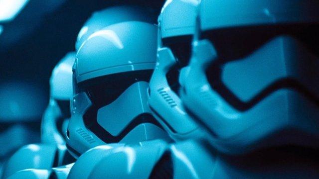Stormtroopers en Star Wars: El despertar de a Fuerza
