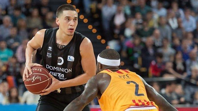 Scott Bamforth, jugador del RETAbet Bilbao Basket