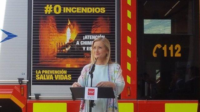 Cristina Cifuentes en Canencia