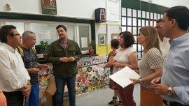 """El PP reclama el pabellón prometido hace """"siete años"""" en el CEIP Santa Clara y apoya la """"escuela de calor"""""""