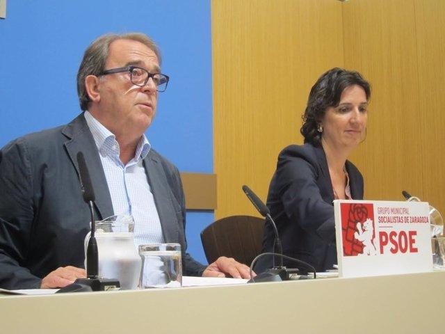 El portavoz del grupo municipal del PSOE en el Ayuntamiento, Carlos Pérez Andón.