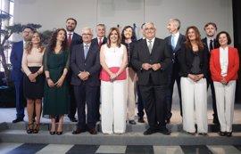"""Susana Díaz pide """"diálogo"""" a su nuevo Gobierno para """"aprovechar al máximo"""" la recuperación"""