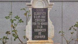 El Gobierno niega que se celebrase un acto franquista en Dos Torres que vulnerase la Ley de Memoria