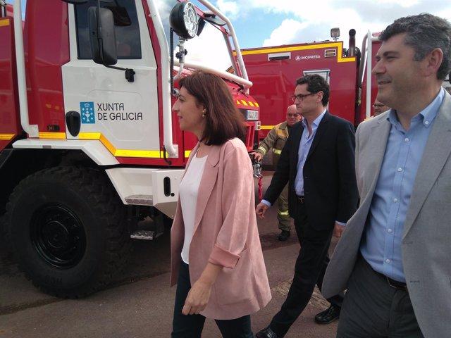 Entrega de 12 motobombas a los distritos forestales de Galicia
