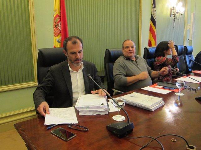 Biel Barceló en comparecencia parlamentaria