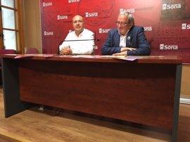 La Banda de Soria pasará por El Retiro y rendirá homenaje a las peñas sanjuaneras