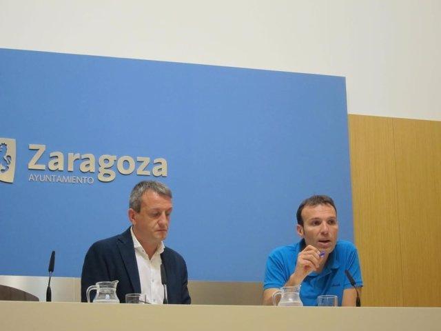 Fernando Rivarés y Pablo Muñoz.