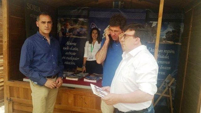 Promoción de la alondra ricotí Feria madrileña 'MADBird'