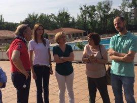 PSOE pide más seguridad en las piscinas municipales tras la reyerta en Orcasitas