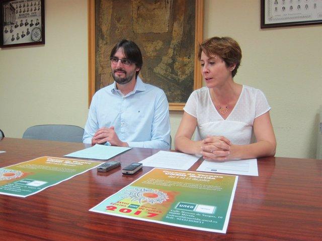 Presentación de los Cursos de Verano 2017 del centro asociado de UNED en Mérida
