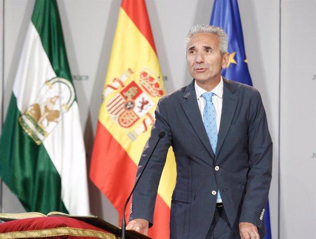 Miguel Ángel Vázquez, nuevo consejero de Cultura de la Junta de Andalucía