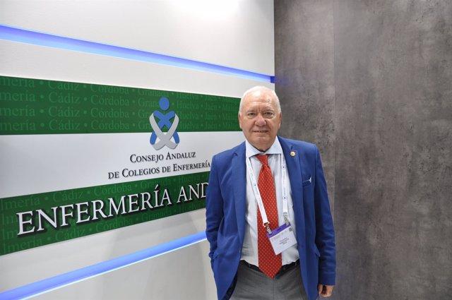 El presidente del Consejo Andaluz de Enfermería (CAE), Florentino Pérez Raya