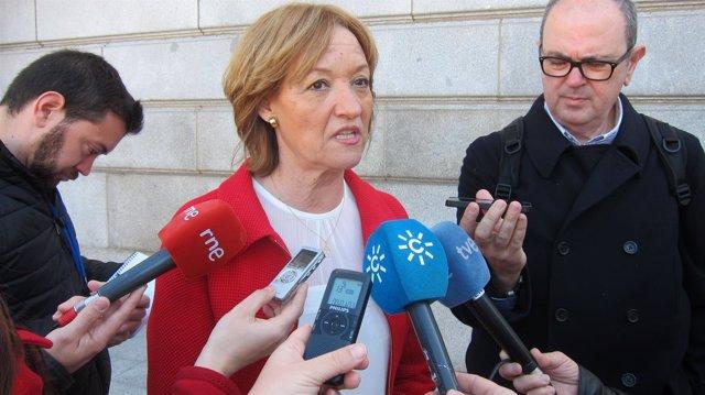 Carmen Ortiz, en Madrid