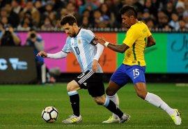 El proyecto Sampaoli empieza con victoria ante Brasil