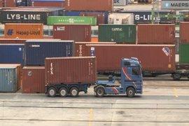 Los estibadores cifran en un 100% el seguimiento en los puertos vascos de la tercera jornada de paro