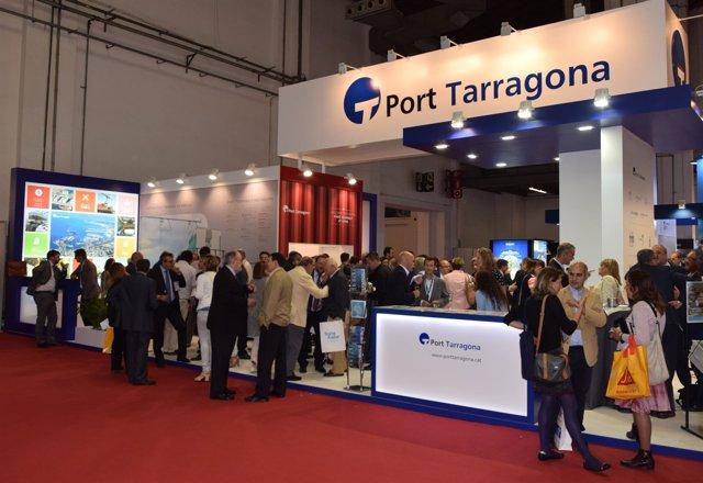 Estand del Puerto de Tarragona en el SIL 2017