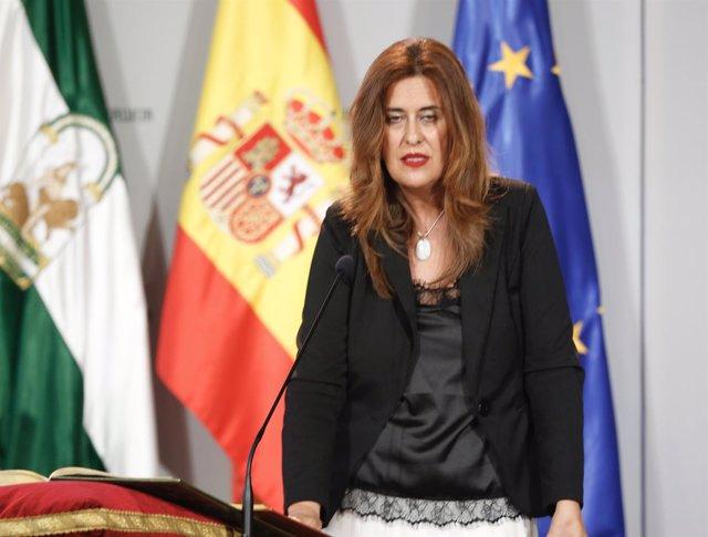 La nueva consejera de Educación de la Junta de Andalucía, Sonia Gaya