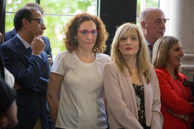 Nuria López y Carmen Castilla