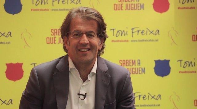 Toni Freixa, candidato a la presidencia del Barcelona