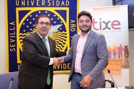 Estudiantes de la Universidad Pablo de Olavide realizarán prácticas en el club tecnológico TIXE