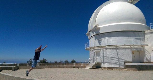 La Revista 'Viajeros' visita el Calar Alto, referente en astroturismo.