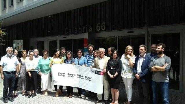 Zaragoza se suma a la Declaración de Barcelona sobre los refugiados