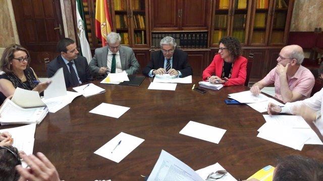 La Comisión Provincial de Seguimiento del PFEA se ha reunido en Subdelegación.