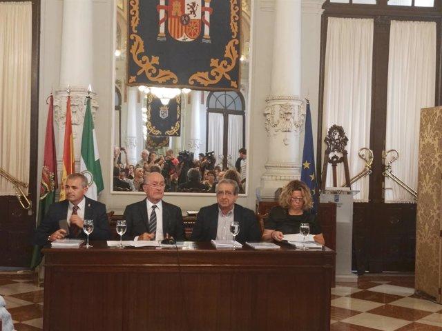 Presentación del Plan contra la radicalización violenta. Málaga