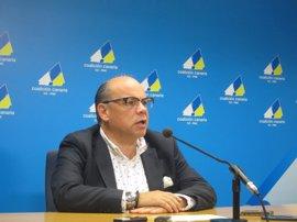 """Barragán (CC) reclama """"más diálogo y consenso"""" para solucionar la cuestión catalana"""