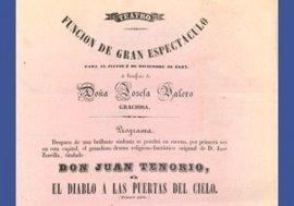 El Arxiu General del Consell dedica una exposición virtual a los inicios del Teatre Principal de Palma