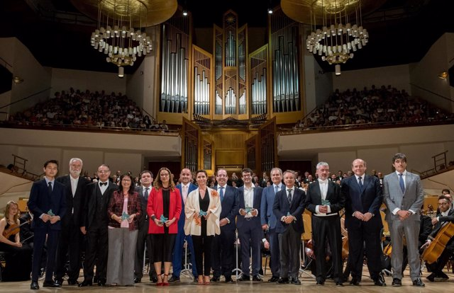EXCELENTIA. PREMIOS EXCELENTIA 2017 A LA MUSICA CLASICA. ORFEON DONOSTIARRA