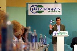 Moreno se reúne por primera vez con los presidentes provinciales tras los congresos