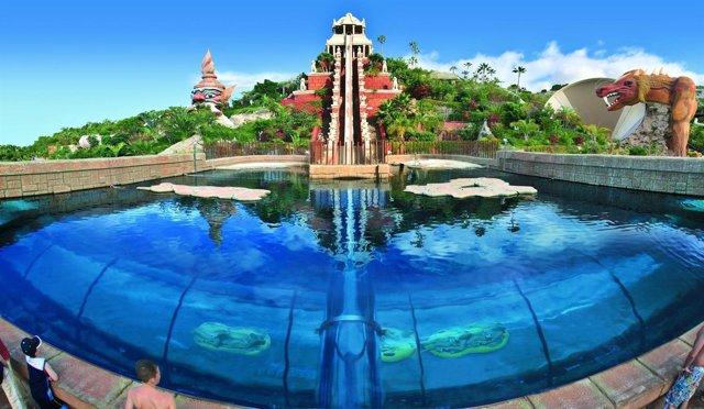 Una de las atracciones del Siam Park de Tenerife (imagen de archivo)