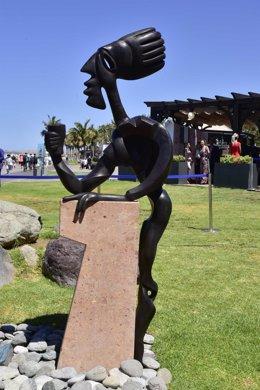 Monumento al bar en el sur de Gran Canaria