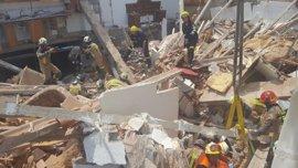 Los dos albañiles heridos en el derrumbe de una casa en Nuévalos, en estado grave