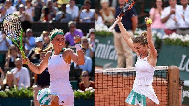 Ostapenko y Halep se miden en la final de Roland Garros 2017