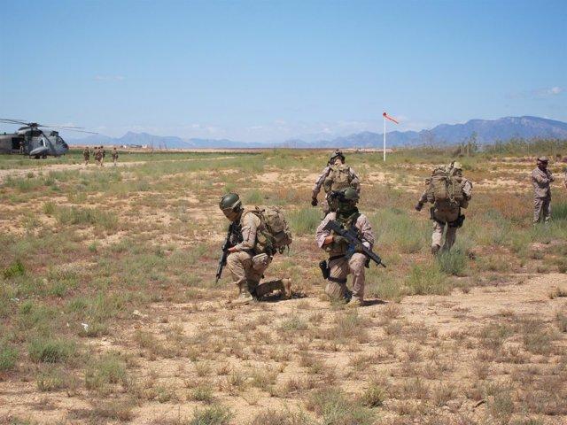 Imagen del ejercicio SOFEX-16 del Ejército