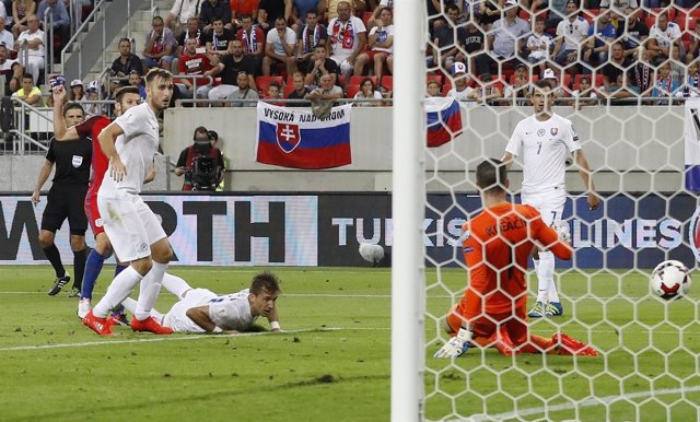 Inglaterra gana a Eslovaquia en la clasificación para el Mundial de 2018