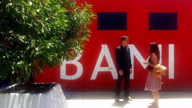 Honorato en las instalaciones de Bami.