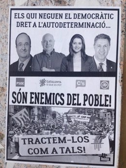 Fiscalía abre una investigación por carteles en Lleida