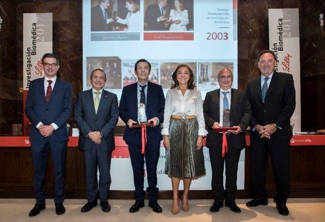 Entrega de premios de Fundación Lilly de Investigación Biomédica
