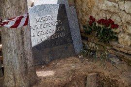Confirman que uno de los cuerpos exhumados es el de Timoteo Mendieta