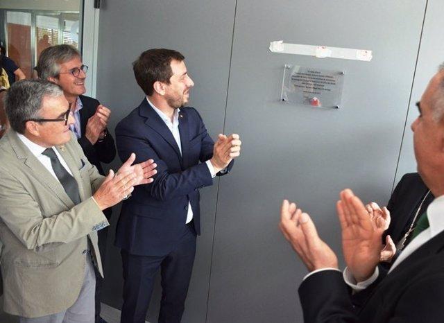 GOVERN / El conseller de Salud, Antoni Comín ha inaugurado el Hospital Sant Joan
