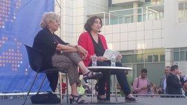 Ada Colau y Manuela Carmena piden una alianza de ciudades contra Trump y el terrorismo